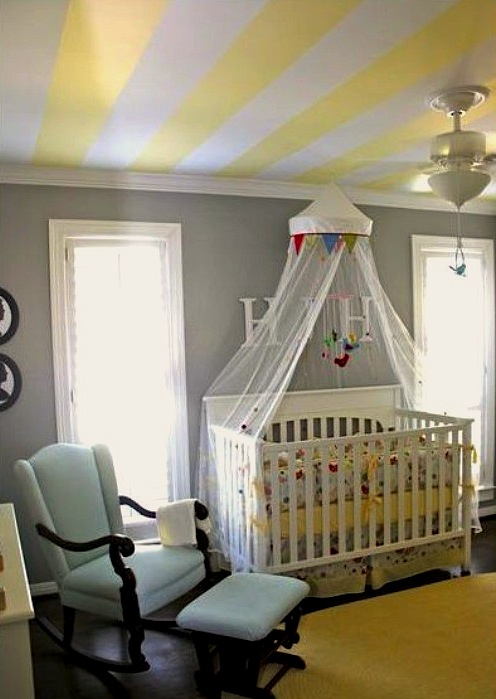 Plafond schilderen prijs schilderwerken snel - Painting nursery ceiling ideas tips ...
